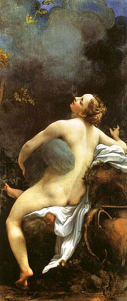Jupiter and Io, by Correggio