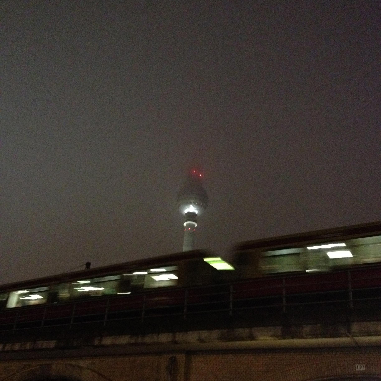 Semi foggy night